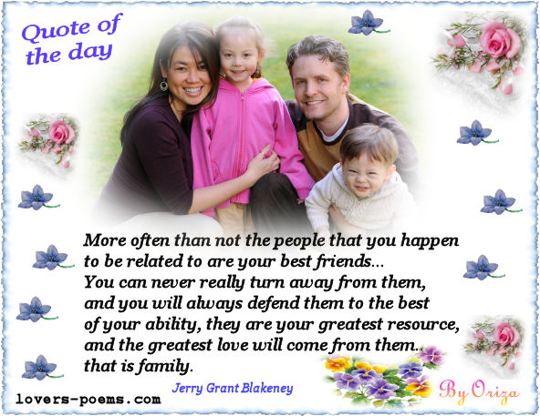 quotes about family love. /2-quote-of-the-day-family