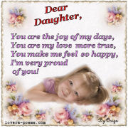 Message to a daughter