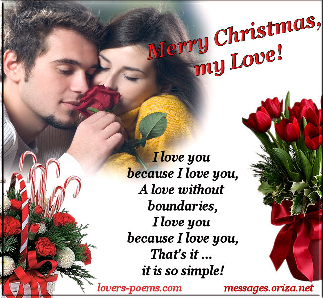 Christmas Message for Lovers
