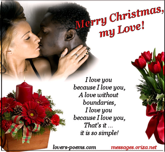 Christmas Love Poems