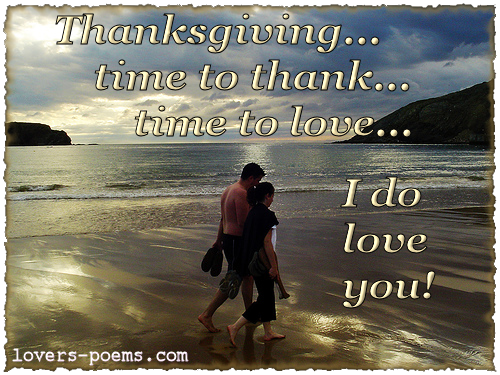 funny thanksgiving quotes. Romantic Love Thanksgiving